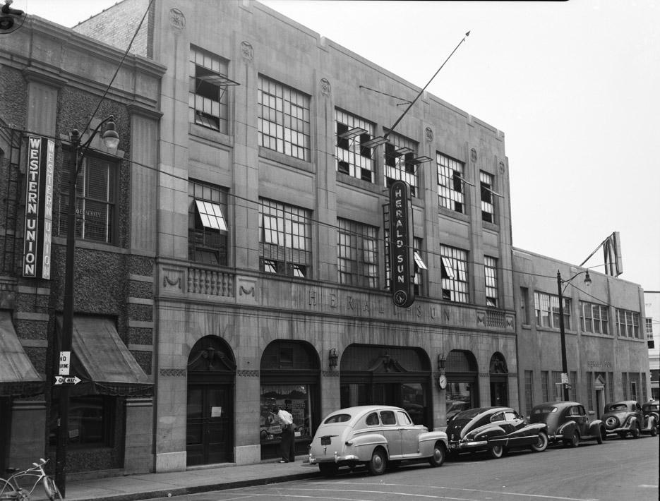 Herald Sun Buildings Open Durham