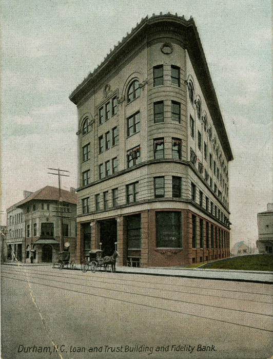 Trust building open durham the fidelity bank moved to the geer building in 1915 and the home savings bank later located on the former site of the center theater at east chapel hill malvernweather Image collections