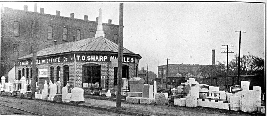 To Sharp Monument Co Great Jones West Chapel Hill Se