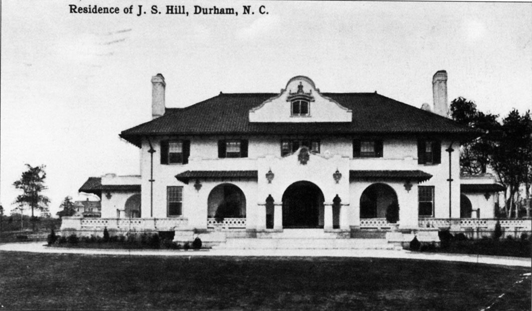 Hill House, 1910s-1920s. Photo courtesy of Open Durham