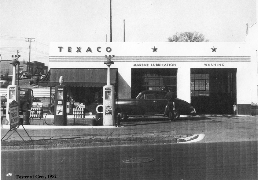 TEXACO/SINCLAIR STATION - NE CORNER GEER AND FOSTER | Open