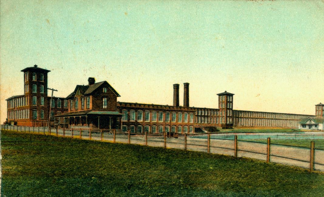 1888 ANTIQUE CLAY BRICK Demo Textile Mill SANFORD BRICK CO