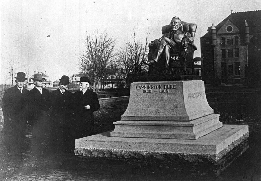 Washington Duke Statue Open Durham