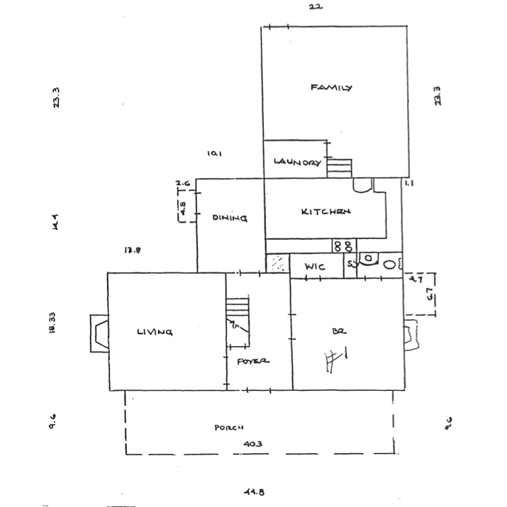 Concrete flat roof house plans house design plans for Flat roof plan drawing