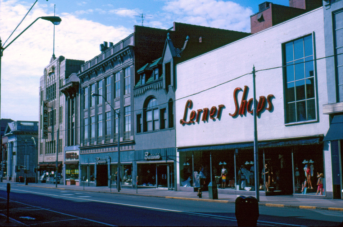 Early 1960s (Courtesy Louise Hall Collection, Durham County Library