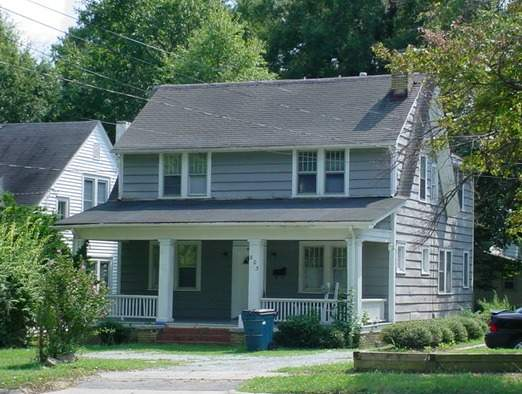 803 west club boulevard open durham - Two story gable roof houses ...