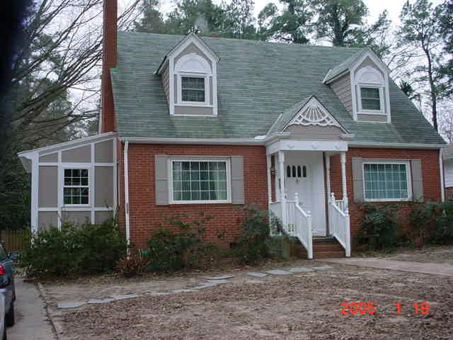Pictures of brick cape cod houses
